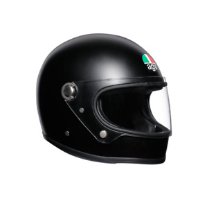 AGV X3000 RETRO FULL FACE MOTORCYCLE HELMET CLASSIC MATT BLACK SIZE S MS ML L XL