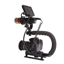 Pro Stabilizer C-shape Bracket Video Handheld Grip Fit for Camcorder Camera DSLR