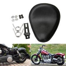 "3"" Motorrad Solo Sitz Schwingsattel für Harley Honda Sportster Bobber Chopper"