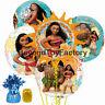 Disney Moana Bouquet Orbz Super Shape Foil Balloon 7pc Set Party Balloons Decor