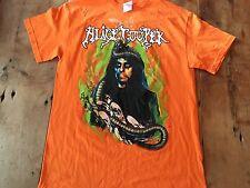 Alice Cooper Halloween Concert Tour Shirt Mint Orange Medium Dates Rare