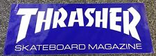 Thrasher Magazine Sticker 9.25 Inches Blue Spitfire Vans Krooked Anti Hero Fa