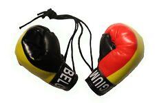 BELGIUM Country Flag Mini Boxing Gloves..New
