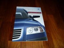 VW Passat Prospekt 10/2002