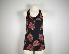 a82e4431dca6e ARITZIA WILFRED - Women s Black Racerback Tank Top with Floral Print - Size  XS