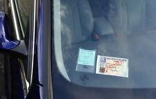 Support adhésif pour carte MOBILITE INCLUSION made in france étui stationnement