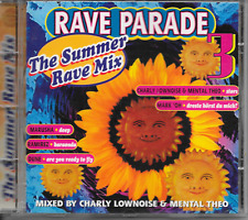 CHARLY LOWNOISE & MENTAL THEO -Rave Parade 3 - The Summer Rave Mix CD 36TR 1995