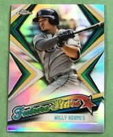 Willy Adames 'Future Stars' 2019 Topps Chrome - Tampa Bay Rays