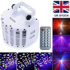 RGBWY Led Stage Strobe Flashing Light DMX512 Sound Active Disco Perform Lighting