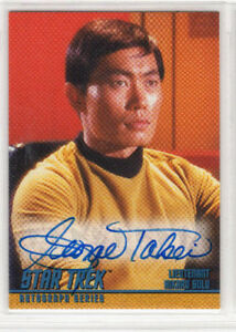 STAR-TREK-THE-ORIGINAL-SERIES-SEASON-1-A4-GEORGE-TAKEI AUTOGRAPH