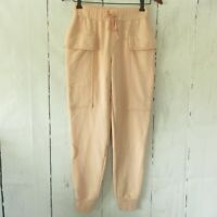 New YFB Young Fabulous & Broke Jogger Sweat Pants S Small Pink Cargo