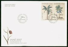 Mayfairstamps Sweden FDC 2007 Flower Combo Linne First Day Cover wwg_02617