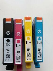 HP 364XL  Ink Cartridges Genuine Black, Magenta, Cyan , Yellow Original HP364XL