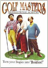 Fridge Magnet 2x3 Three Stooges Golf Masters Retro Vintage Tin Sign