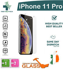 For Apple iPhone 11 Pro Tempered Glass Screen Protector Saver Guard Film New
