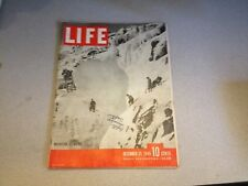OLD LIFE MAGAZINE -DECEMBER 31, 1945 -  GOOD CONDITION
