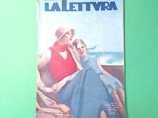 LA LETTURA RIVISTA MENSILE DEL CORRIERE DELLA SERA 1 SETTEMBRE 1932 n 9