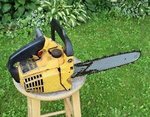 Vintage McCULLOCH MAC 110 Chainsaw Chain Saw
