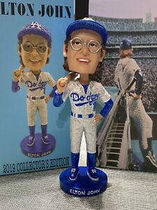 Exclusive Elton John Los Angeles Dodgers 1975 Commemorative Bobblehead