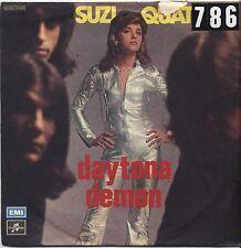 "SUZI QUATRO - Daytona demon - VINYL 7"" 45 LP ITALY 1976 VG+ COVER VG-- CONDITION"
