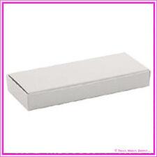 Bomboniere / Favor Met Pastel Cream Chocolate Heart Rectangle Box - Pack of 25
