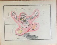 Disney , Donald Duck, Storyboard Pencil Drawing '' Donald Nephews''
