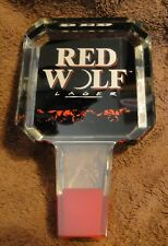 Red Wolf Lager Beer Tap - NEW