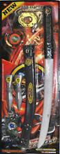 Ninja-Set 6tlg. Waffenset Schwert Wurfstern Wurfmesser Karneval Fasching