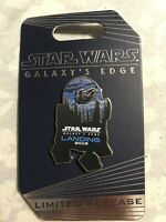 Disney Star Wars Galaxy's Edge Landing 2019 Opening Day R2D2 Limited Release Pin