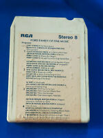 1973 Ford Car Advertising Dealership 8 Track Tape Family of Fine Music VTG Rare