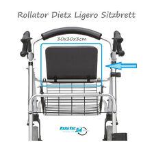 Dietz Ligero Andador Rollator Repuesto Tablero de asiento COMPLETO