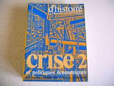 CAHIERS D' HISTOIRE INSTITUT M. THOREZ CRISE politique PAYSANNERIE URSS 1920/30