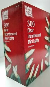 "300-Light Clear Incandescent ""Stay Lit even if A Bulb Burns Out"" Mini Christmas"