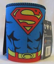 122575 SUPERMAN SUPER MAN CAPED NEOPRENE CAN COOLER STUBBY HOLDER DC COMICS