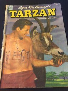 Edgar Rice Burroughs' Tarzan # 40 (1953) Dell Comics