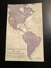 Postcard--Meeting of the Atlantic & Pacific The Kiss of the Oceans 1915 PPIE SF