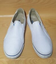 Puma Slip On Casual White Sneakers Mens Shoes Size 12