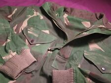 Indian Army Denison Smock 1960's: Large Size: ExtremelyRare Camo: Half Zip Model