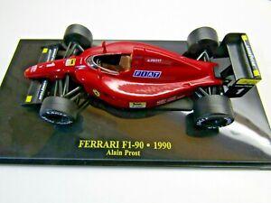 IXO/Ferrari 1:43 Scale Diecast Model Ferrari F1-90 1990 Alain Prost