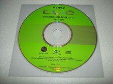 Sony Clie PEG-TJ27 Software Treiber Installation CD-ROM