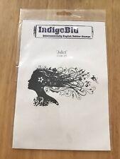 Indigoblu Juliet Unmounted Rubber Stamp