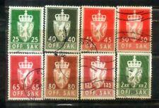 Offentlig Sak Norway Nice Stamps Lot 2