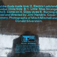 JIMI HENDRIX ELECTRIC LADYLAND TRACK 1968 Ex vinyl 1st UK press PART 2 A1B3