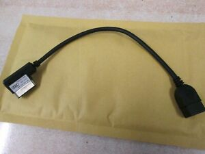 Genuine Audi AMI Lead music iPod MP3 Memory Stick Cable to USB 4F0051510AB