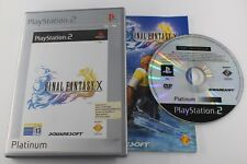 PLAY STATION 2 PS2 FINAL FANTASY X PLATINUM  COMPLETO PAL ESPAÑA