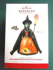 HALLMARK 2013 HALLOWEEN MADAME ALEXANDER Wicked Witch of West CLUB ORNAMENT-NIB