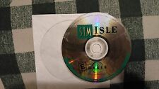 SIM ISLE 2000 MAXIS ISLAND SIMULAT PC VIDEO GAME DOS CD