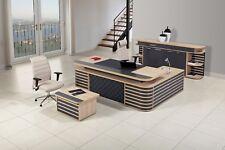 Büromöbel-Set,Büro komplett Set,Bürotisch,Seitentisch,Büroschrank,Beistelltisch
