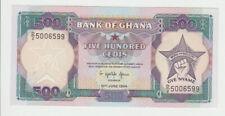 GHANA 500 Cedis 1994 Pick 28c UNC
