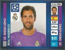 PANINI UEFA CHAMPIONS LEAGUE 2013-14- #092-REAL MADRID-DIEGO LOPEZ